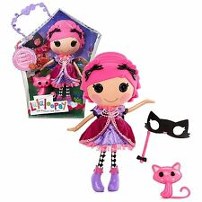 "MGA Entertainment Lalaloopsy Sew Magical Sew Cute 12"" Tall Doll Pink cat pet"