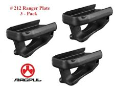 Magpul MPI Ranger Plates - for Gen M2 mags or other - 3 Pack - BLACK