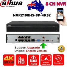 Dahua NVR4208-8P-4KS2 8 Channel 1U 8PoE 4K H.265 Lite Network Video Recorder