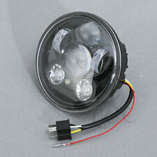 """5-3/4"""" Round Projector LED Headlight Lamp Fit For Harley Sportster XL 883 1200"""