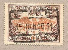 1902-14 Belgium Railroad Stamp.'Chemins de Fer.Spoorwegen'.(1 Fr.).Pp4/Q42-2