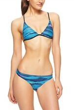 Women's adidas Beach Wear AOP Bikini  Blue Muti Colour CZ9239 BNWT free UK Deliv