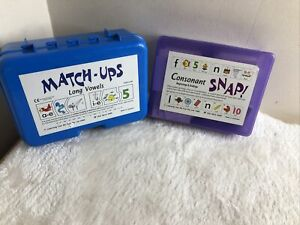 Early Years Phonics. Home School. Consonant Snap Match Up Long Short Vowels Wird