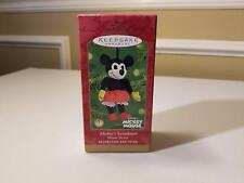 2001 Mickey's Sweetheart Hallmark Keepsake Ornament QXD4192 - NIB