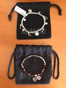 MIMCO Rose Gold Stretch Bracelets X 2