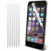 """Pack of 5 Anti-Scratch LCD Screen Protector Guard Film, Apple iPhone 6 6S (4.7"""")"""