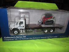 FREIGHTLINER JERR-DAN united rental first gear WRECKER W/ TAKEUCHI TRACK LOADER