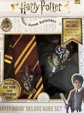 Harry Potter Gryffindor Deluxe Robe Set (lightly damaged box)