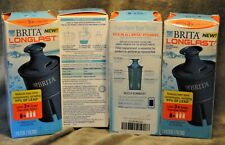 Brita Longlast Filters For Pitchers~ Lot Of 4 Filters ~ New ~ Free Shipping ~