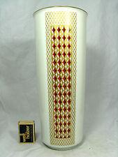 Rich decorated 70´s design Heinrich & Co. Porzellan porcelain vase 1751 / 1 29cm