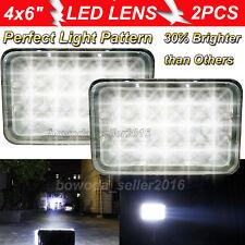 For GMC Jimmy Sonoma 4x6 inch LED Headlight 45W High-Low Beam Super Bright 2Pcs