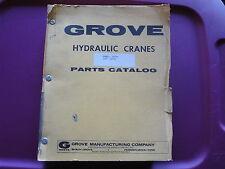 GROVE RT75S Crane PARTS Manual  GMC  05/1974