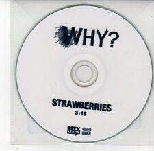 (DV635) Why?, Strawberries - DJ CD