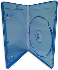 100-Pak Single 12mm Blu-ray Case with Silver Blu-ray Logo