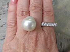 "Genuine Paspaley South Sea Loose Pearl ""Fine"" Quality 17.5 MM Circle Shape NEW"