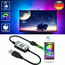 5M LED Backlight TV Hintergrundbeleuchtung USB Lichtstripe PC-Band Streifen RGB