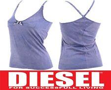 DIESEL UFTK-NINAS 00S48L SIZE S Womens Strappy Vest Ladies Sleeveless Tank Tops