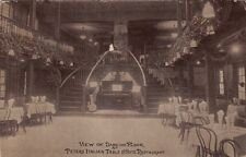 Postcard View Dancing Floor Peters Italian Table D'Hote Restaurant NY
