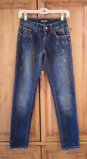 KARMA BLUE Embellished Skinny Jeans Size 1