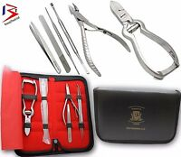Professional HEAVY DUTY THICK Toe Nails Clippers PLIERS Chiropody Podiatry Steel