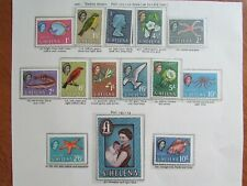 XL4877: St Helena Complete QEII Mint Stamp Set to £1 (1961)