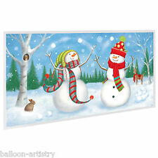 Christmas Snowmen Party Scene Setter Add on Prop Decoration - Festive Friends