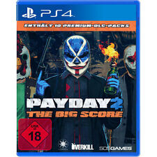Sony PS4 Playstation 4 Spiel ***** Payday 2 The Big Score *********NEU*NEW*18*55