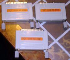 Lot of 3 HP A1658-62070 Rev A Wide-SE HD68 External SCSI-2 Terminators