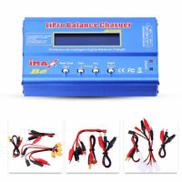 IMAX B6 RC 80W Balance Charger LCD for Lipo NiMH NiCd Multi Battery +Adapter 2