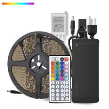 SUPERNIGHT® Waterproof 10M 600Leds RGB 5050 LED Strip Light+DC Power+4Pin Remote