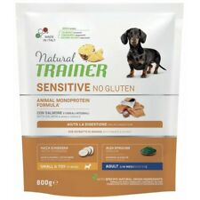Natural Trainer Sensitive No Gluten ex Fitness 3 Adult Small & Toy con Salmone 8
