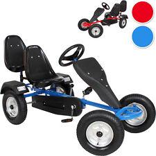 Go kart à pedales 2 places cart biplace kettcar véhicule enfants voiture