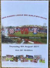 Hajduk Split  Stoke City programme Europa League 2011-12