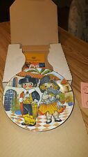 Vintage Dolly Dingle Visits Spain/ World Traveler Plate Series/ FIRST Edition.