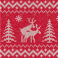CHRISTMAS IS JUST TWO F*CKIN DEER GREETINGS CARDS - FUNNY RUDE XMAS RED OR GREEN