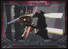 Star Wars 2016 Masterworks Great Rivalries Darth Maul Obi Wan Kenobi GR-5 Topps