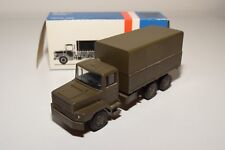 ± LION CAR DAF N2800 N 2800 TRUCK ARMY GREEN NEAR MINT BOXED