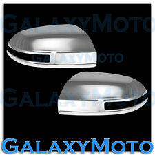 Triple Chrome plated ABS Mirror Cover w/Turn Signal for 09-15 NISSAN MAXIMA 2015