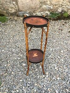 Vintage Bamboo Plant Stand
