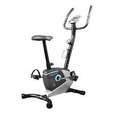 ENJOYFIT® Heimtrainer Ergometer Fitnessbike Fahrradtrainer mit Handpuls-Sensoren