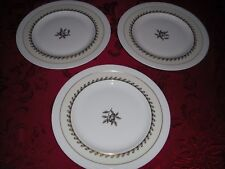 LOT of 3 Lenox Salad Dishes  (1 w/J.E. Caldwell & Co. stamp) Green Mark