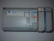 Allen-Bradley Plc Micrologix 1500 cpu 1764-24BWA + 2 modules