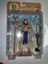 """BETTE PAIGE As CLEOPATRA Dark Horse Deluxe 7"""" Action Figure NEW 2004 Rare"""
