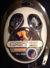 New 1 GB Folding Wireless Stereo Neckphone Headphone MP3 Player (AAA Battery)
