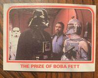 1980 Topps Star Wars The Empire Strikes Back prize of Boba Fett #91  VADER