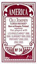 2003-04 Topps C55 Minis American Red #34 Olli Jokinen
