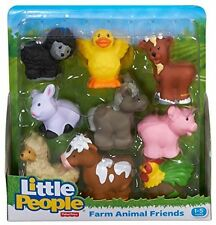 BRAND NEW Fisher Price Little People Farm Animal Friends - 9 Pack Ages 1-5 years