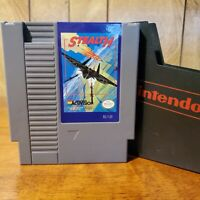 Stealth ATF (Nintendo Entertainment System 1989) NES Game w/ Official Dust Cover