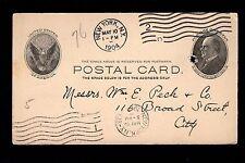 Export Dept Colgate Soap Perfume Order Card New York 1904 Postal Card 3m