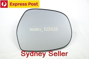 RIGHT DRIVER SIDE HEATED MIRROR GLASS FOR  TOYOTA PRADO 2003 - 2009 120 SERIES